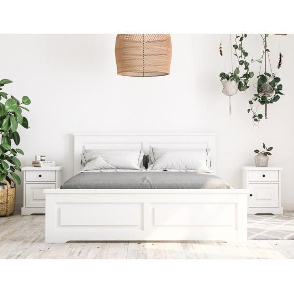 Dřevěná postel Parma 48