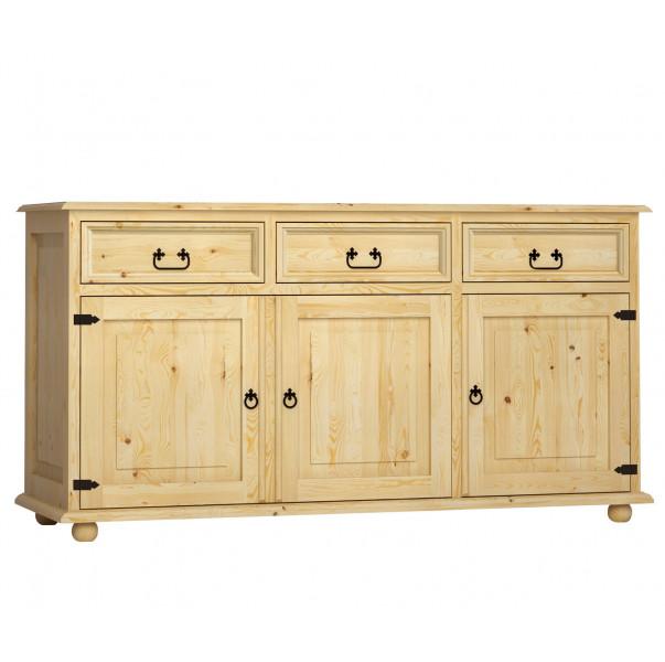 Dřevěná komoda Beskidzka 17