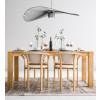 Dubový stůl Klasický 02 A rozkládací