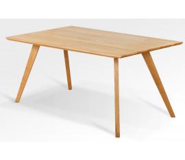 Dubový stůl 21 / dubová deska