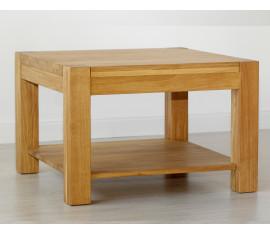 Dubová lavice čtverec Ław02