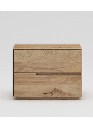 Dubový noční stolek NSzn01 2s