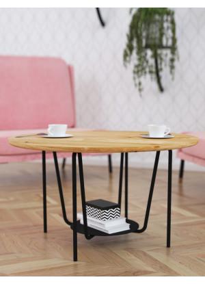 Dubový konferenční stolek Ław14