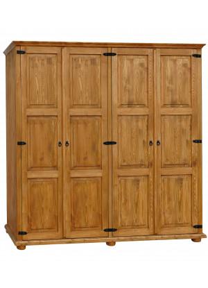 Dřevěná skříň Hacienda 10