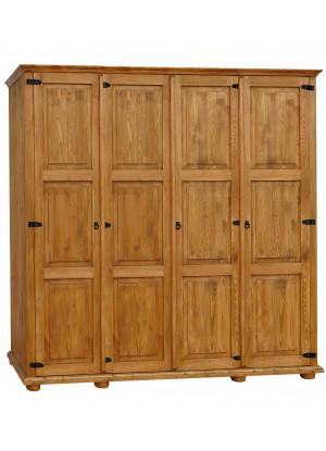Dřevěná skříň Hacienda 11