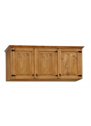 Dřevěná nástavec na skříň Hacienda 03