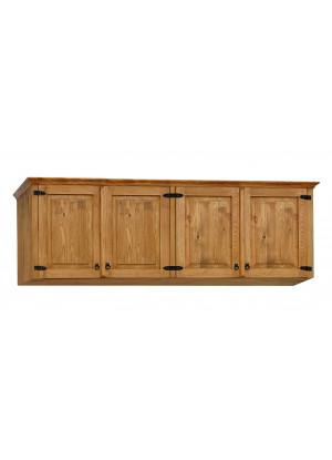 Dřevěná nástavec na skříň Hacienda 04