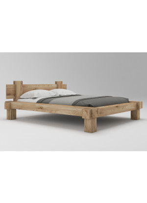 Dubová postel Muscari 01