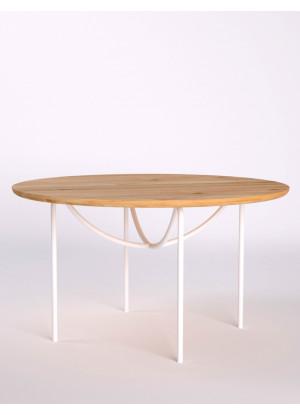 Dubový konferenční stolek Ław15