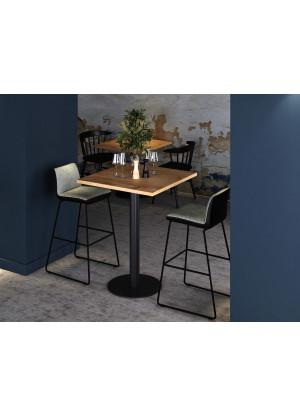 Dubový barový stolek vysoký