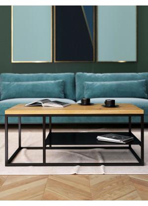 Dubový konferenční stolek Ław23