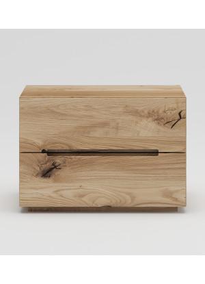 Dubový noční stolek NSzn04 2s