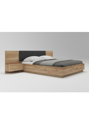 Dubová postel zvedací Morus 01