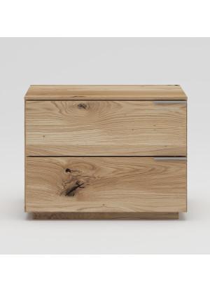 Dubový noční stolek NSzn05 2s