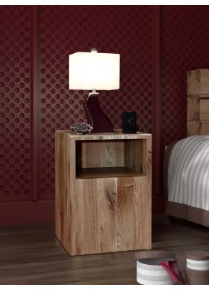 Dubový noční stolek Syringa 03