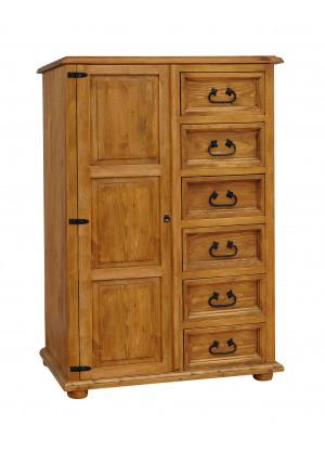 Dřevěny prádelnik Hacienda 21