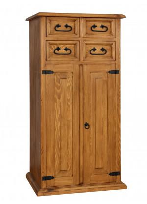 Dřevěná komoda Hacienda 22
