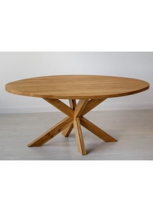 Dubový stůl Masiv 08 Ovál