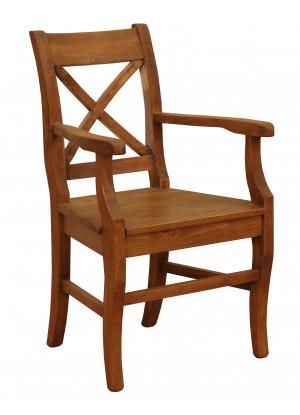 Rustikální židle Hacienda X