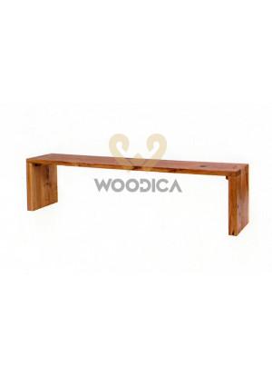 Dubová lavice modern 02
