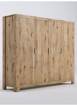 Dubová skříň Vernalis 05 4d