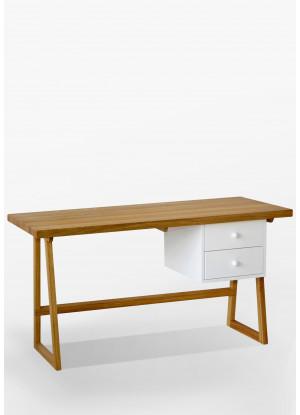 Dubový psací stůl/sekretář 01