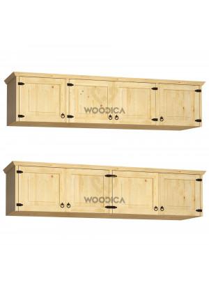 Dřevěná nástavec na skříň Beskidzka 04