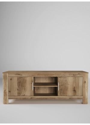 Dubový TV stůl Vernalis 01