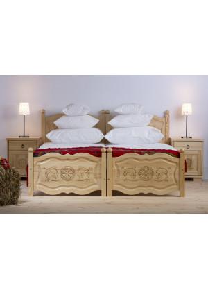 Dřevěná postel Horalska 29