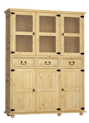 Dřevěná vitrína Beskidzka 06