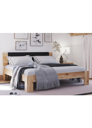 Dubová postel Vernalis 02