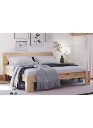 Dubová postel Vernalis 01