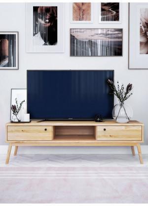 Dubový TV stůl Malaga 02 (2d nízký)