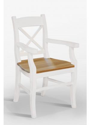 Židle Nicea 33 X dubové sedadlo