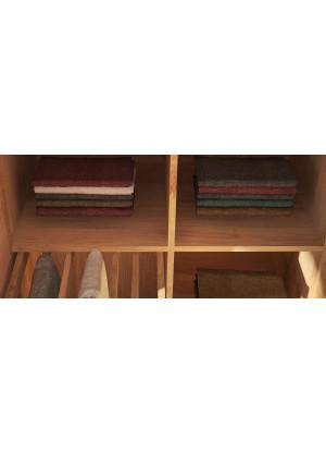 Półka do szafy dębowej Modern duża 100cm