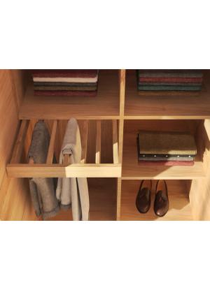 Wieszak na spodnie do szafy dębowej Modern duży 100cm