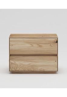 Dubový noční stolek NSzn02 2s