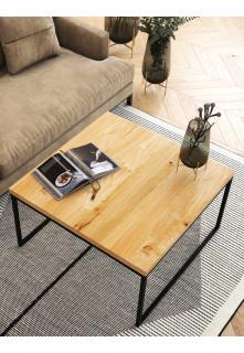 Dubový konferenční stolek Ław05 čtvercový