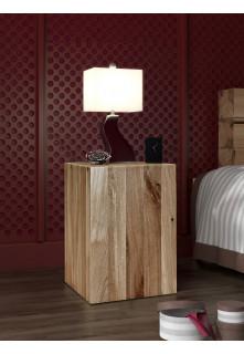 Dubový noční stolek Syringa 01