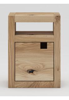 Dubový noční stolek Caragana 02