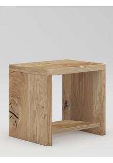 Dubový noční stolek Syringa 02