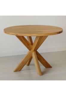 Dubový stůl Masiv 07 Kulatý