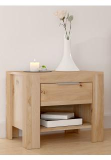 Dubový noční stolek Vernalis 01