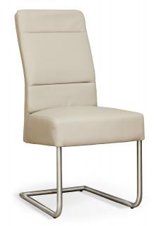 Židle na kovových nohách čalouněná NK-30