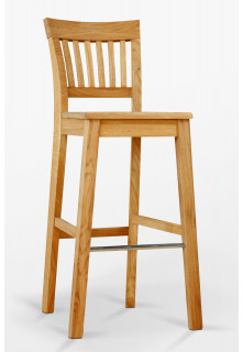 Dubová židle barová D