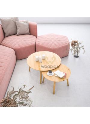 Dubový konferenční stolek Ław24