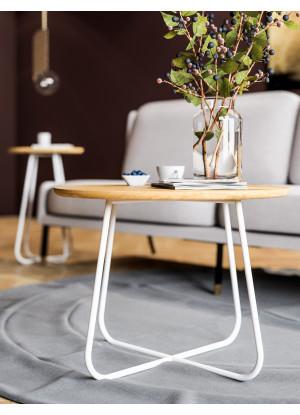 Dubový konferenční stolek Ław10