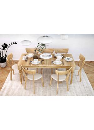 Rozsouvací stůl Nicea NDR dubový