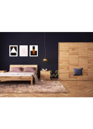 Dubová postel Modern 02