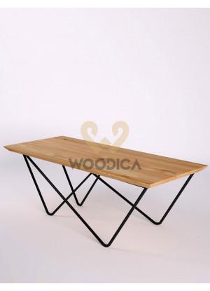 Dubový konferenční stolek Ław17